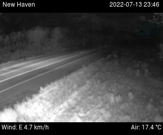 Web Cam image of New Haven (Highway 1)