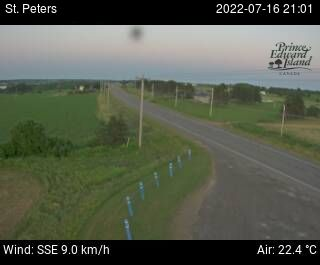 Web Cam image of St. Peters (Highway 2)